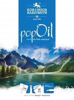 Bloki do farb olejnych POP OIL